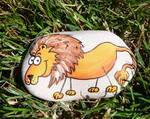 Painting on rocks - Lev (kameny_024.jpg)