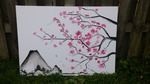 Canvas painting - sakura (sakura.jpg)